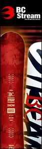 BC Stream スノーボード